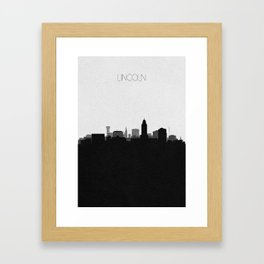City Skylines: Lincoln Framed Art Print