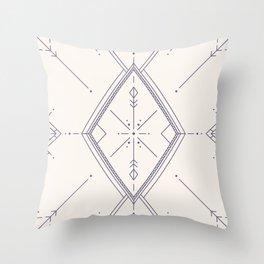 Convergence Light Throw Pillow