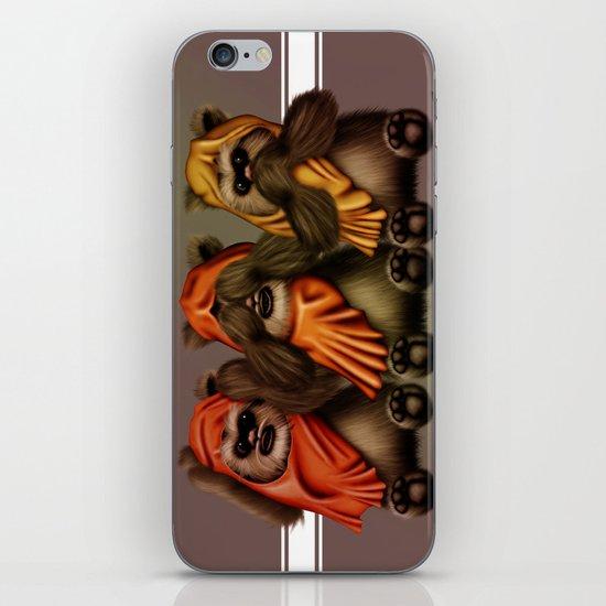 STAR WARS The Three Wise Ewoks iPhone & iPod Skin