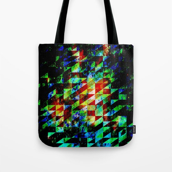 GLITCHES Tote Bag