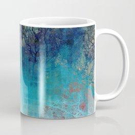 On the verge of Blue Coffee Mug