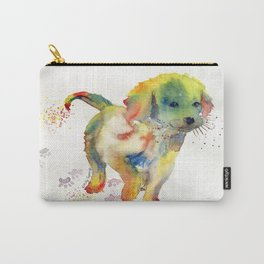 Colorful Puppy - Little Friend Carry-All Pouch