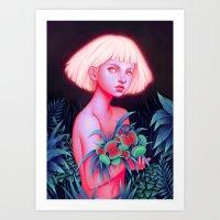 venus Art Prints featuring Venus by Joifish