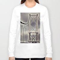 bridge Long Sleeve T-shirts featuring Bridge by itsthezoe