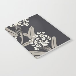 Boho Botanica Black Notebook