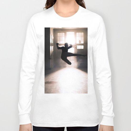 Jump contre jour Long Sleeve T-shirt