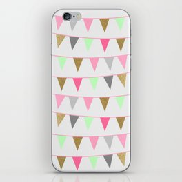 Spring Bunting Flags iPhone Skin