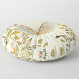 The Hum of Bees Floor Pillow