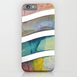 Rainbow Wave iPhone Case