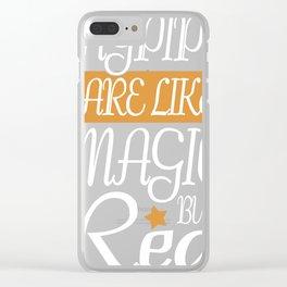 Bagpipe Music Gift Scotland Scots Scotland Clear iPhone Case