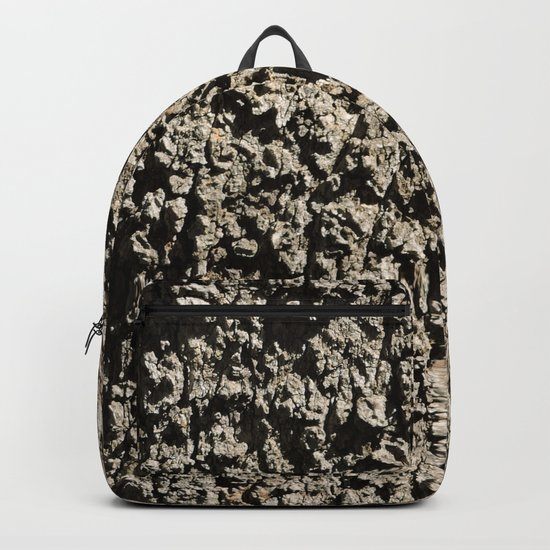 TEXTURES -- Western Sycamore Bark Backpack