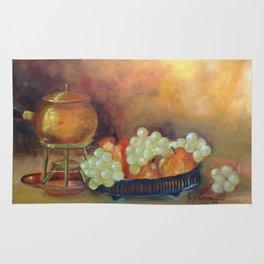 Compoição com frutas II (Composition with fruits II) Rug