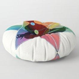 Sacred Geometry Merkaba Chakra Meditation Floor Pillow