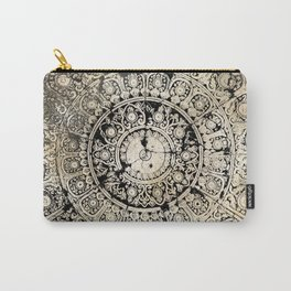 BLACK & GOLD MANDALA ARMARRI OKRE Carry-All Pouch