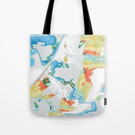 Eazy peazy painterly squeezy Tote Bag