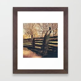 I feel like this guy never, ever doubts his own awesomeness. Framed Art Print