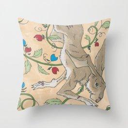Spiel Mit Mir: Kaninchen Throw Pillow