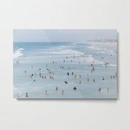 beach vibes xv / california Metal Print