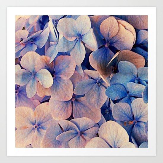 Blue Dreams Art Print