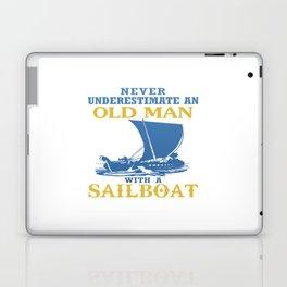 Old Man With A Sailboat Laptop & iPad Skin