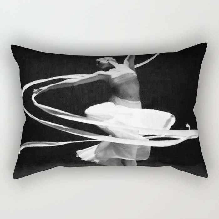 Pirouette Rectangular Pillow