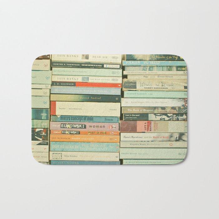 Bookworm Bath Mat