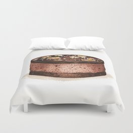 Chocolate Mousse Duvet Cover