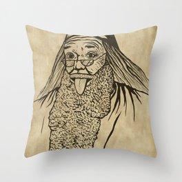 Albert Dumblestein Throw Pillow