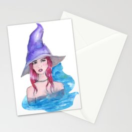 water witch Stationery Cards