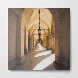 Archway into Hallway #decor #society6 #buyart Metal Print
