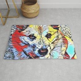 Color Kick - Dog (R) Rug