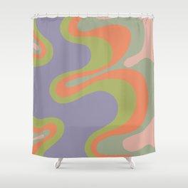 Popart pattern, modern, minimal, playful  Shower Curtain