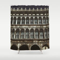 Facade on Piazza San Marco Shower Curtain
