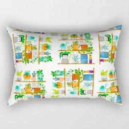 plant shelf Rectangular Pillow