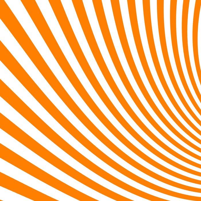 Swirl (Orange/White) Leggings