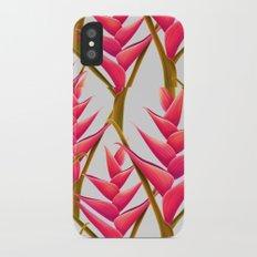 flowers fantasia Slim Case iPhone X