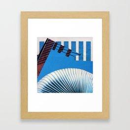 Nothin' but Blue Skies Framed Art Print
