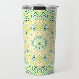 Citrus Kaleidoscope Travel Mug