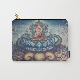 Buddah blue temple Carry-All Pouch