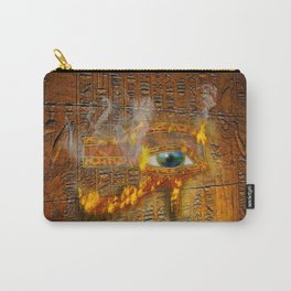 The Prophecy of Fire - Ancient Egypt Eye of Horus Carry-All Pouch
