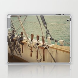 Sailboat Ropes and Lines Color Photo Laptop & iPad Skin