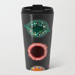 The Planets Print One Metal Travel Mug