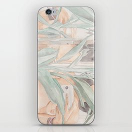 Flora & Reflection Selfie. iPhone Skin