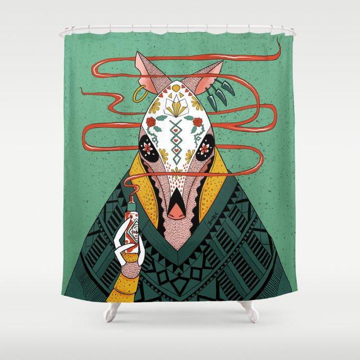 Tacodillo Shower Curtain