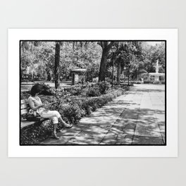 May in Savannah Art Print