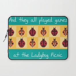 Ladybug Picnic Laptop Sleeve