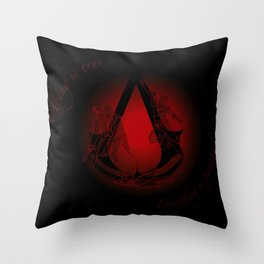 Everything is Permitted Throw Pillow