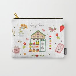 Fruit Shop - pencil hand-painted Carry-All Pouch
