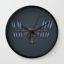 Space station ISS Wall Clock