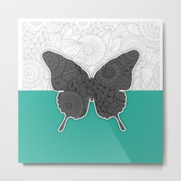Dance of a Butterfly Metal Print